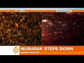 Mubarakdémission